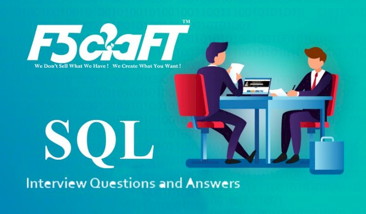 SQL Questions For Interview With Answers 2020