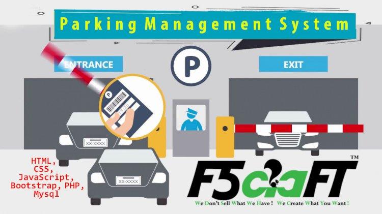 Parking Management System – Codeigniter